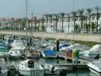 Vila Real da Santo Antonio marina - hop over to Spain for the day