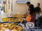 Market day is every Saturday and is a huge affair with many stalls offering a variety of temptations