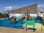 State of the Art Children's Playground around the Corner!!