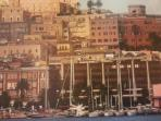 vista appartamento dal mare