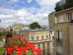 Our garden ;-) yes, in the heart of Paris, enjoy our small flourished, nested on a long 15m balcony