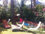 Jardin. Piscina