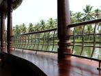 Sitting Area in Pournamis' 4 Bedroom Luxury Houseboat