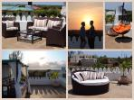 Rooftop terrace, great for relaxation and to watch the sunset
