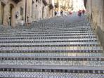 St. Maria del Monte Stairway in Caltagirone