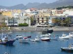 Enjoy a stroll along the shore line of Playa San Juan. Stunning views to the island of La Gomera.