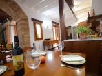 Dining Area, Hall and Kitchen