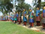 Terracota army at Bombarral