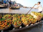 marché  flotant cairang