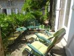 A great suntrap, the terrace - take your morning coffee and listen to the birds chirping.