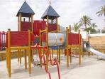 Playgrounds on site
