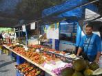 Javea market in the old town on Thursdays.