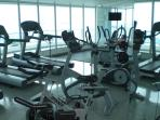 State of the Art Full Gymnasium:  Views to die for as you exercise