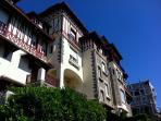 Architecture atypique de cette demeure, édifiée dans les années  30.