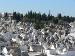 Panoramica di Alberobello