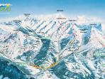 ski dans les aravis