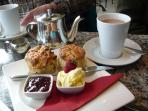 Traditional Cornish Cream Tea.