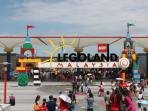 Legoland, Hello Kitty Theme Park are within short driving distance.