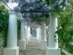 colonnato d'ingresso