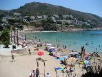 Nearest beach - el portet