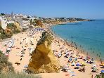 Albufeira Main beach - 5 minutes walk
