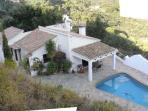 Vue sur Las Cerezas & Piscine & Terrace