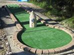 Mini golf 18 trous Le Castagné Auch Gers