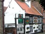 Good to visit the Old Town with it`s old time pub very good meals