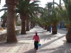 Puerto De Mazarron promenade