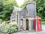 The Gate House with original red phonebox outside!