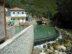 Agroal Thermal Springs, known to hold healing qualities, aprox 40 mins drive