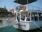 What better way to start your holiday than taking the free boat service to the resort from Gulluck.