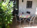 La 2ème terrace dans l'hombre dans une location très tranquile