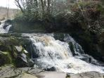 Glenbarrow Waterfall - Slieve Bloom Mountains