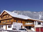 Apartment and holiday home Buchauer in winter