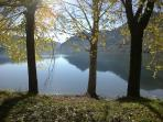 la tranquillità del lago
