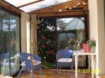 This is our large conservatory.