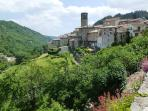 A village in the Ardeche