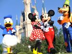 Mickey and Friends are only 10 mins drive away :)
