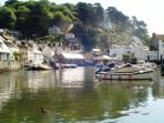 Polperro Harbour - another pretty harbour village just 15 minutes drive away