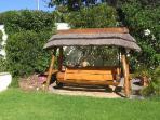 Constantia Cottages - Main Garden / Swing Bench