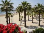 Detalle playa