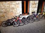 Mountain Bikes for Guest Use.