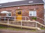 Chestnut Cottage is accessible by ramp or steps and is rated M1 suited for the elderly/less mobile.