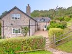 Scots Cottage, Branscombe, Devon.  'Pet Friendly'.