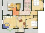 Floorplan apartment 1