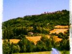 local views with Citerna on the hill.