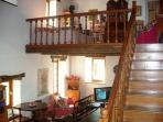 Mezzanine with lounge