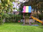 Walled Garden With Children's Play Area