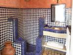 First floor shower room (we now provide linen & cotton hamman-style towels)